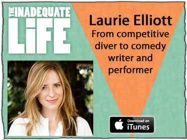 Laurie Elliott, Comedy, interviews, total drama